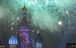 Nước Nga chào năm mới 2017: Mong một năm mới an lành