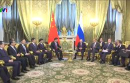 Nga - Trung Quốc ký nhiều văn kiện hợp tác