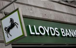 Anh bán toàn bộ cổ phần còn lại của Ngân hàng Lloyds