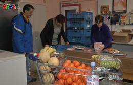 Độc đáo mô hình ngân hàng thực phẩm tại châu Âu