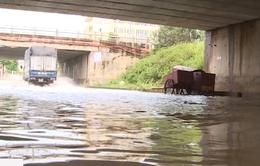 Hà Nội: Một số hầm chui dân sinh ngập sâu sau bão số 2