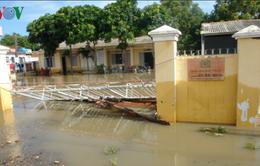 Khắc phục thiệt hại do mưa lũ ở Bình Thuận