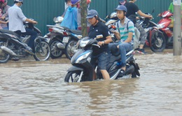 Trước mùa mưa bão 2017, Hà Nội còn 18 điểm úng ngập cố hữu
