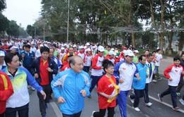 Huy động 7,2 triệu người tham dự Ngày chạy Olympic Vì sức khỏe toàn dân năm 2017