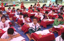 165 học sinh tham dự ngày hội Trạng nguyên nhỏ tuổi lần thứ 15