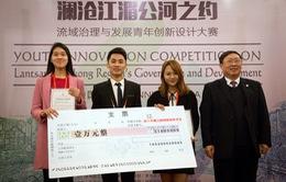 Sinh viên Việt giành giải Nhất cuộc thi Sáng tạo về sông MeKong