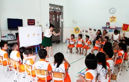 Khánh Hòa: Tiếp tục thí điểm dạy ngoại ngữ trong trường mầm non