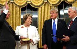Ông Rex Tillerson tuyên thệ nhậm chức Ngoại trưởng Mỹ