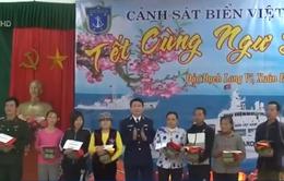 Bộ Tư lệnh Cảnh sát biển tổ chức chương trình Tết cùng ngư dân