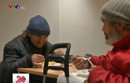 Mùa đông ấm áp cho những người vô gia cư ở Brussels
