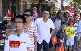 Người hâm mộ Quảng Nam háo hức chờ đợi đoàn đua