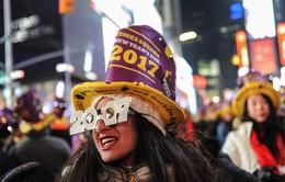 New York (Mỹ): Gần 2 triệu người đón năm mới 2017 trên Quảng trường Thời đại