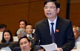 Bộ trưởng Bộ NN&PTNT Nguyễn Xuân Cường trả lời chất vấn trước Quốc hội