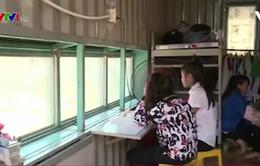 Nhà bán trú container hỗ trợ giáo dục vùng cao