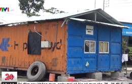 Tràn lan nhà cải hoán trái phép từ thùng container