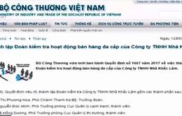 Bộ Công Thương lập đoàn kiểm tra hoạt động bán hàng đa cấp của Nhã Khắc Lâm