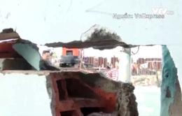 Hàng trăm ngôi nhà nứt toác bên công trình chống ngập 10.000 tỷ đồng