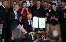 Tổng thống Trump ký sắc lệnh xóa di sản của Obama về biến đổi khí hậu