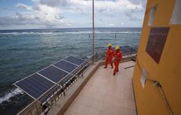 Bàn giao hệ thống năng lượng sạch trên quần đảo Trường Sa