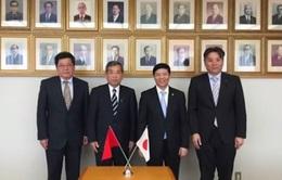 Thúc đẩy hợp tác với tỉnh Kagawa và Tokushima của Nhật Bản