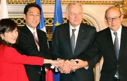 Nhật Bản và Pháp tăng cường hợp tác quốc phòng