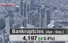 Số doanh nghiệp Nhật phá sản nửa đầu 2017 tăng cao nhất 8 năm