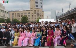 Áo dài Việt Nam được phụ nữ Nhật Bản Yêu thích