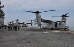 Nhật Bản đề nghị Mỹ hạn chế chuyến bay của Osprey