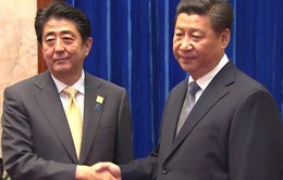 Lãnh đạo Nhật - Trung hội đàm bên lề Hội nghị G20