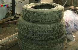 Độc đáo sản xuất nhiên liệu từ lốp xe đã qua sử dụng