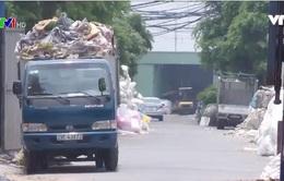 Ô nhiễm môi trường tại làng nghề tái chế nhựa Hưng Yên