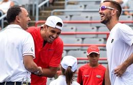 Vòng 1 Rogers Cup 2017: Nick Kyrgios khởi đầu thuận lợi, David Ferrer nhọc nhằn đi tiếp
