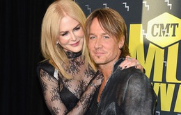 Nicole Kidman e ấp tỏa sáng bên chồng