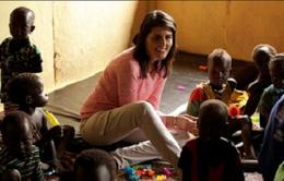 Đại sứ Mỹ được sơ tán khẩn cấp khi đến thăm trại tị nạn ở Nam Sudan