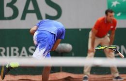 """Những """"thánh"""" đập vợt tại Pháp mở rộng 2017"""
