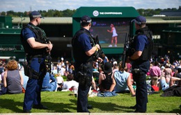 Công tác đảm bảo an ninh cho Wimbledon được đặc biệt đề cao