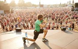 Hơn 3800 người cùng tập thể dục ở Anh