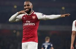 """Sao Arsenal tiết lộ về điệu ăn mừng """"thổi kèn"""" đặc trưng"""