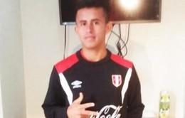 Cầu thủ nhí Peru gây chú ý vì cái tên quá giống trùm khủng bố khét tiếng