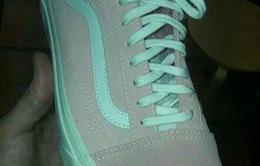 Đố bạn biết chiếc giày này màu gì?