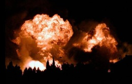 Nổ kho chứa khí đốt ở miền Nam nước Pháp