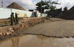 Nổ súng bắt cát tặc trên sông Đồng Nai