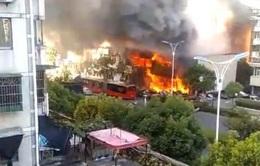 Nổ khí gas tại Trung Quốc, ít nhất 2 người thiệt mạng