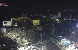 Nổ nhà máy hóa chất ở Trung Quốc, 2 người thiệt mạng
