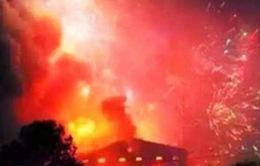 Ấn Độ: Cháy nổ tại nhà máy sản xuất pháo hoa, 12 người thiệt mạng