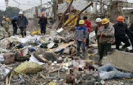 Nổ nhà máy tại Trung Quốc, hơn 30 người thương vong