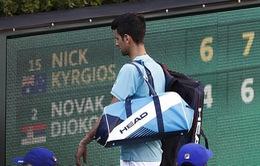 Lần thứ 2 thất bại trước Kyrgios, Djokovic thành cựu vương Indian Wells