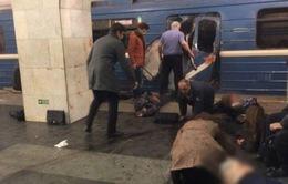Nổ tại ga tàu điện ngầm ở Nga, 10 người thiệt mạng