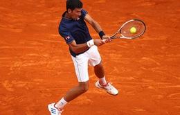 Monte Carlo Masters 2017: Khởi đầu nhọc nhằn cho Djokovic