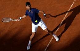 Vòng 3 Roma Mở rộng 2017: Djokovic dễ dàng vào tứ kết